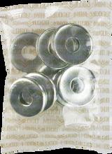 Mini Logo - 10 ack Kingpin Bottom Washer Silver