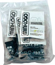 "Mini Logo - 10 ack Hardware 7 / 8"" Phillips"