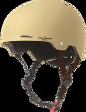 Triple Eight - Gotham Helmet L / Xl - Cream Matte Rubber Cpsc / Astm - Skateboard Helmet