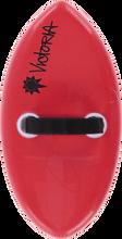 """Victoria - Foam Handplane Red - 6.5x12.75"""""""