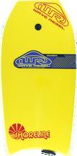 "Wave Rebel - Rebel Shoreline 39"" Yel Bodyboard"