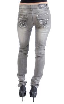 Antique Rivet Jeans - Marianne (Bowie Wash)