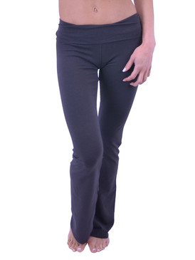 Vivian's Fashions Yoga Pants - Full Length (Misses and Misses Plus Sizes)