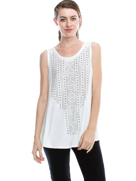Vocal Top - Tank Top Stone, Sleeveless