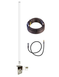 12dB Fiberglass 4G LTE XLTE Antenna w/25ft Coax Verizon Novatel 6620L