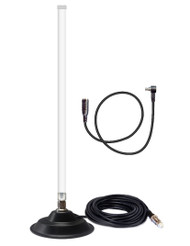 12dB Fiberglass 4G LTE Mag Mount Antenna For Verizon Novatel 551L