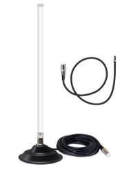 12dB Fiberglass 4G LTE Mag Mount Antenna For AT&T Unite Express NETGEAR AC779S Hotspot