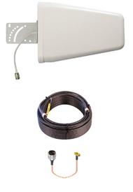 10dB Yagi Verizon Novatel T1114 4G LTE XLTE Antenna w/25ft Coax