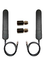 Dual MIMO AT&T MF-279 Hotspot Router BLADE Antenna -Velcro Mount