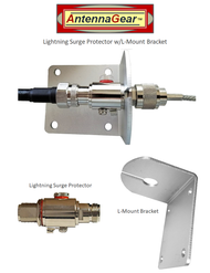 Lightning Surge Protector + L-Bracket Mount Kit