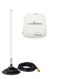 Accelerated 6310-DX LTE Router CAT 4 w/ 12dBi Fiberglass Antenna Cellular 4G LTE AWS XLTE M2M IoT with Mag Mount