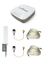Accelerated 6330-MX LTE Router CAT 6 w/ 9dBi MIMO Antenna, 2 x 25 FT Cables + 2 x Adapters - SMA Male