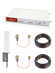 Accelerated 6350-SR LTE Router CAT 6 w/ 9dBi MIMO Antenna, 2 x 100 FT Cables + 2 x Adapters - SMA Male