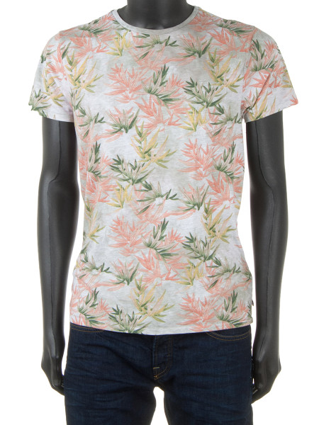 Floral Burn-Out T-Shirt