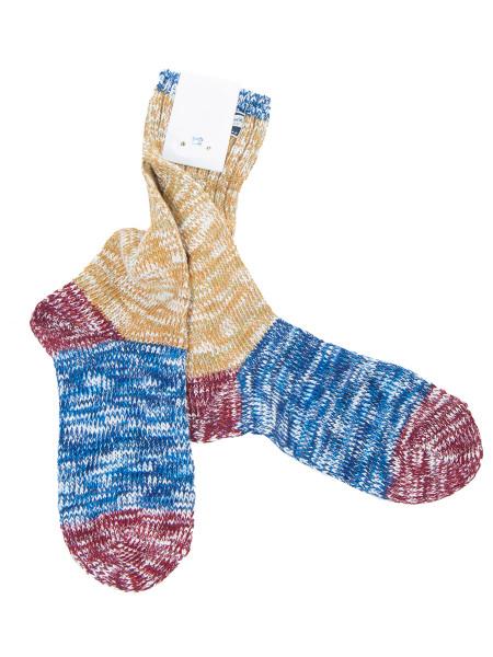 Mulitcolour Melange Cotton Socks