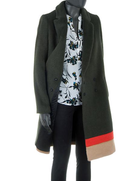 Dark Green Spring Coat