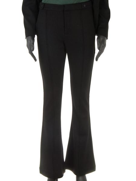 Black Sparkle Tuxedo Flares