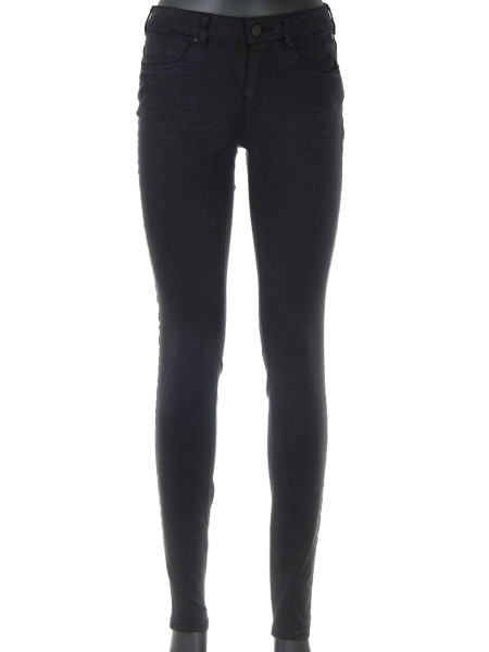 Black Mid-Rise Skinny Fit Jeans