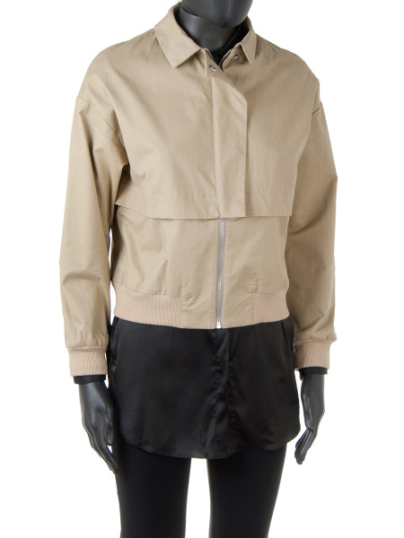 Short Camel Safari Jacket