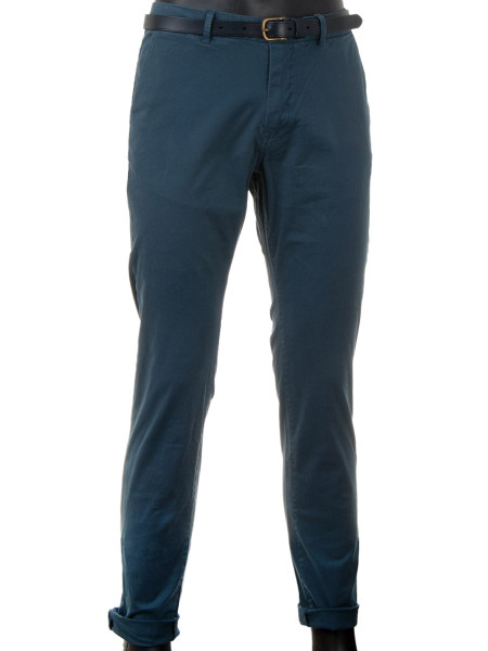 Dark French Grey Classic Chinos