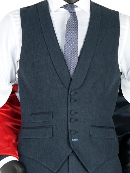 Linen Blend Waistcoat