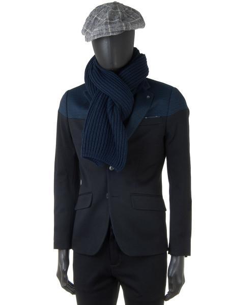Two-Tone Blazer Jacket