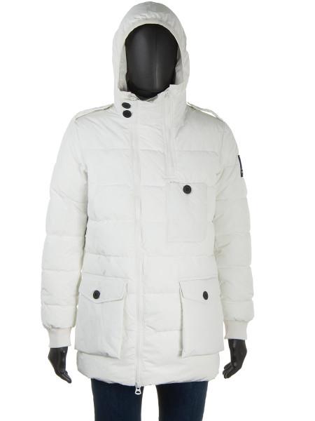 Long Down Jacket Winter White