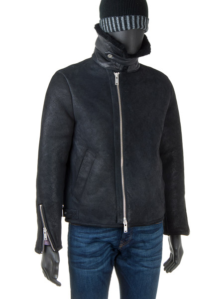 Aviator Sheepskin Leather Jacket