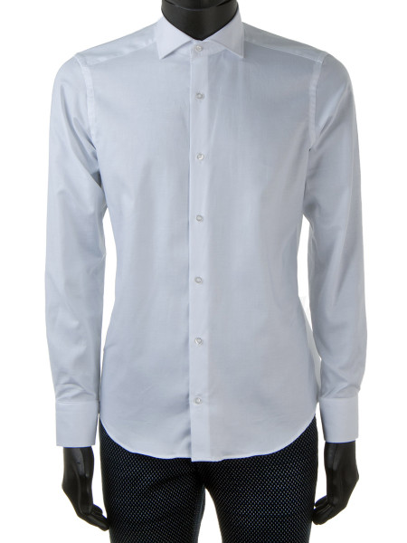 NEW White Oxford Cotton Cut-Away Collar Shirt