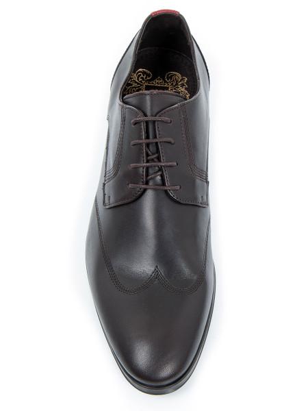 Dark Brown Leather Shoe