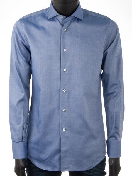 Denim Blue Oxford Cotton Shirt