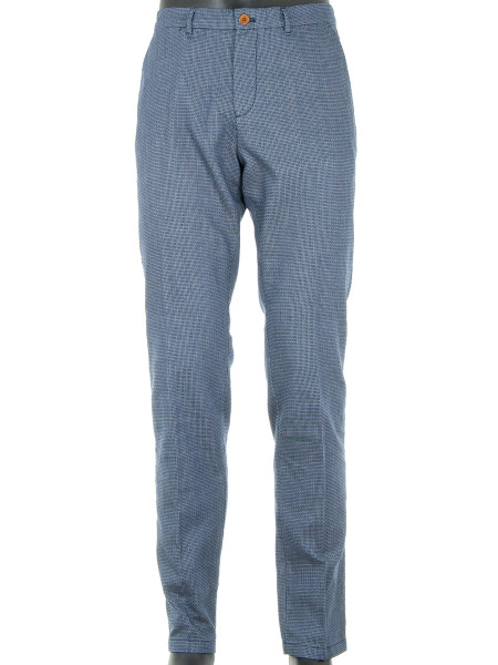 Blue Weave Chinos