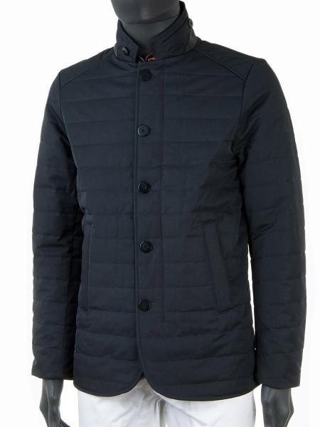 Short Padded Charcoal Jacket