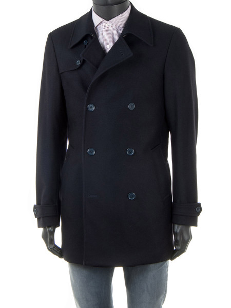 Black Wool Pea Coat