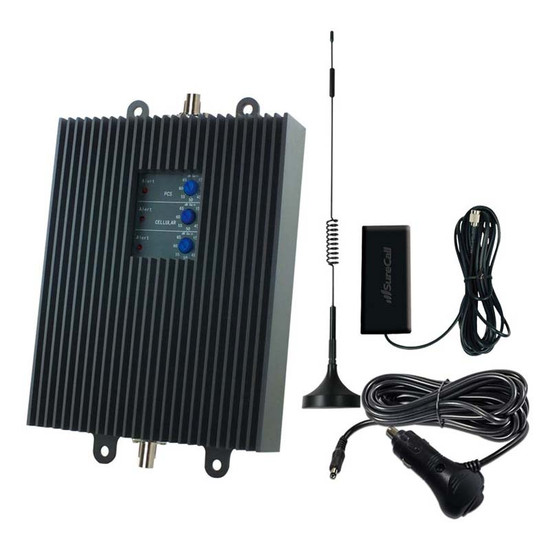 SureCall TriFlex2Go-V Verizon Cell Phone Signal Booster - Full Kit