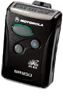 Motorola LS 850 Numeric Pager Motorola BR 850 numeric pager. Digital pager pager with pager service plan.