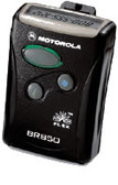 Motorola BR 850 numeric pager. Digital pager pager with pager service plan.