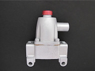 FACTORY RE-BUILT VINTAGE ROBERTSHAW TS-15 SAFETY VALVE. This safety valve is guaranteed to work like a new. Warranty 1 Year. GAS CONNECTION - Inlet/Outlet - 7/16 Tube. We recommend you have a certified professional or company with experience in this area install this part.