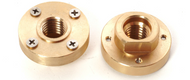 "Quad Adapter, 7/8""-5/8"" Threaded, Brass"