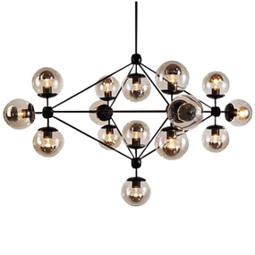 Jason Miller Modo Glass Chandelier Replica