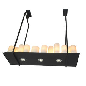 Kevin Reilly Altar LED Glass Candle Chandeliers Replica