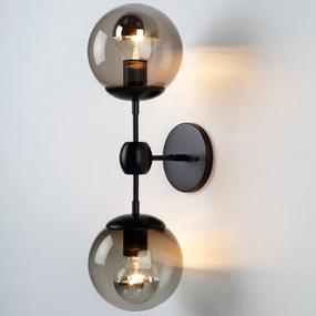 Jason Miller Modo 2 Head Globe Wall Lamp Sconce Replica