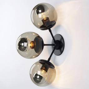 Jason Miller Modo 3 Head Globe Wall Lamp Sconce Replica