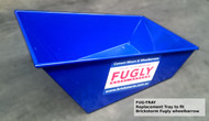 Replacement Tray for The Original Brickstorm FUGLY Wheelbarrow. Heavy Duty Top Quality Wheelbarrow for Renderers, Bricklayers and Builders.