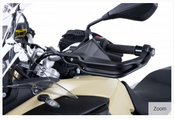 BMW F800GS Adventure Hepco & Becker Hand Guard Crash Bars (black)