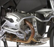 BMW R1200GS Hepco & Becker Lower Crash Bars (silver)