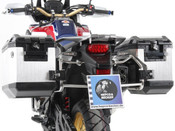 HONDA CRF1000 Africa Twin Hepco & Becker Pannier Frames with Side Panniers (stainless steel)