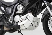 HONDA XL700V Transalp Hepco & Becker Engine Protection Plate (Silver)