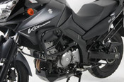 SUZUKI DL650 V-Strom Hepco & Becker Lower Crash Bars (black)
