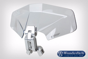 Wunderlich Vario-Ergo + 3D Screen Deflector (Clear)